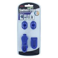 Cellet Blue Universal Swivel Clip Holder for Belt / Car