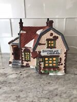 "Department 56 Dickens Village Series ""Booter And Cobbler"" 1988"