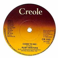 """Ruby Winters - Come To Me! - 7"""" Record Single"""