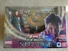 Bandai Tamahii Nation S.H.Figuarts Marvel DR. STRANGE & Burning Flame Set USA