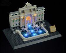 LIGHTLING LIGHT UP KIT FOR LEGO 21020 TREVI FOUNTAIN + USB AA POWER BANK NEW