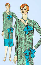 1920s VTG Ladies Home Journal Sewing Pattern 6304 Uncut Flapper Dress Size 38 B