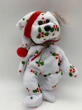 Christmas 9� Holiday Teddy Bear Vintage 1998