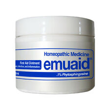 Emuaid First Aid Homeopathic Ointment Heals & Calms Over 120 Skin Disorders 2 oz
