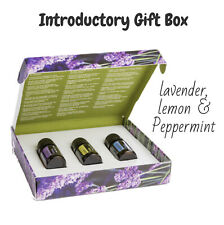 doTERRA Intro Kit Gift Box - 3 x 5ml Bottles ✅ Peppermint, Lavender & Lemon