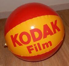 Beau BALLON publicitaire KODAK Film - BALLON type de PLAGE - Vintage 70'