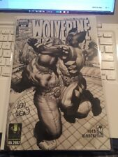 Wolverine #53 Black and White Variant (Signed by Len Wein)