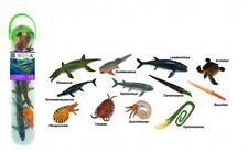 *NEW* CollectA Tube 12 Piece Mini Prehistoric Marine Animal Assortment A1104 Set