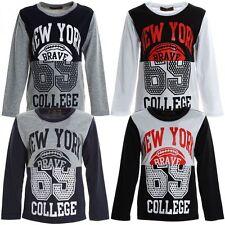 Markenlose Damen-Freizeithemden Jungen-T-Shirts & -Polos
