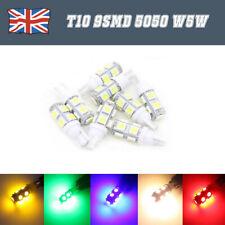 T10 W5W 501 9 SMD 5050 LED de alta potencia Luz lateral Canbus Coche Cuña Blanco Bombilla