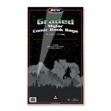 250 BCW Graded Comic Mylar Bags- 2 MIL
