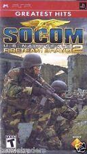 SOCOM: U.S. Navy SEALs -- Fireteam Bravo 2 (PSP, 2006)   Factory Sealed