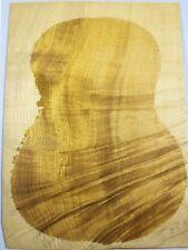 Golden Phoebe Wood Ukulele Tonewood Back Set 312mmx224mmx2mm