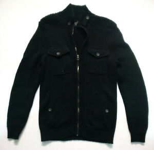 E Spirit Mens Cotton Knit (Heavy) Cardigan; Size M