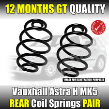 VAUXHALL ASTRA H REAR COIL SPRINGS MK5 2004-2011 SRi Models With Factory LOWERED