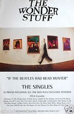 "Wonder Stuff ""If The Beatles Had Read Hunter"" U.K. Promo Poster - Alternative"