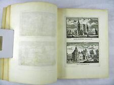 ABRAHAM RADEMAKER KABINET VAN NEDERLANDSCHE ANSICHTEN NIEDERLANDE 1727 #D921S