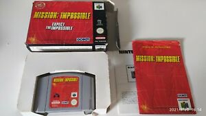 MISSION: IMPOSSIBLE, NINTENDO 64, PAL, COMPLETE