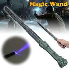 Harry Magic Wand Magician Wizard Cosplay LED Light & Sound Halloween Gifts Toy