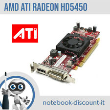 ATI AMD Radeon HD5450 512mb Scheda Video DVI DisplayPort  Low-Profile TESTED OK