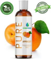 Apricot Kernel Oil 4 oz Cold Pressed Carrier 100% Pure Organic For Skin Massage