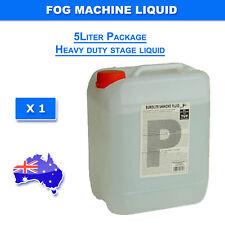5 Liter  Smoke Machine Liquid Fluid Led and Laser Light HEAVY DUTY MIST
