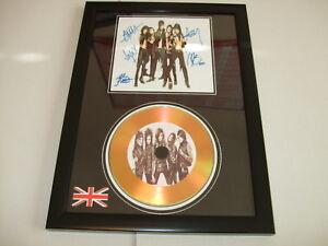 BLACK VEIL BRIDES   SIGNED  GOLD CD  DISC  112