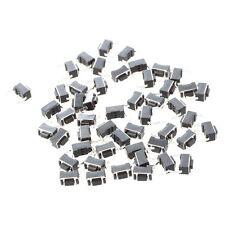 50x Tact Push Button Switch 2 Pin DIP Through Hole 3x6x4.3mm TP