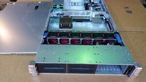 HPE 742657-B21 ProLiant DL560 Gen9 w/ fan tray, heatsink, riser board- chassis