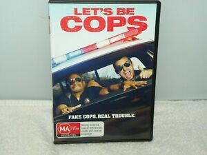 LET'S BE COPS DVD - VGC - REGION 4