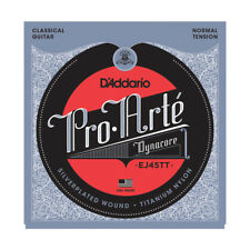 D'Addario EJ45TT ProArte DynaCore Titanium Trebles Normal Tension ...