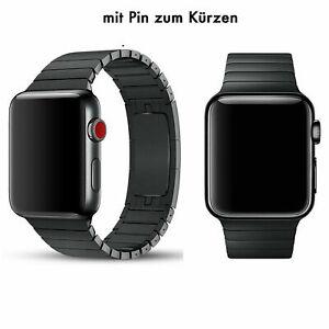 Luxus Edelstahl Uhrenarmband für Apple Watch Series 7 SE 6 5 4 3 2 42 44 45MM DE