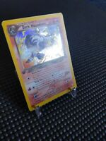 2000 1st Edition Dark Houndoom 7/105 Neo Destiny Holo Rare Pokemon Card MP