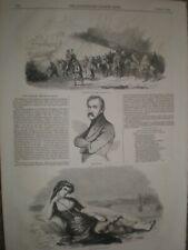 Don Carlos Conde de Molina España 1844 impresión ref un
