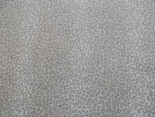 Schumacher Curtain Fabric 'LEOPARD LINEN PRINT' 3 METRES SESAME - 100% Linen