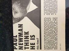 m9-9a ephemera 1970s film picture article paul newman judge roy bean