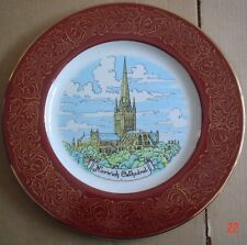 Reli Washbourne Souvenir Collectors Plate NORWICH CATHEDRAL