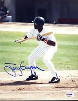 Tony Gwynn Psa/dna Signed 1/1 Original Image 8x10 Photo Autograph
