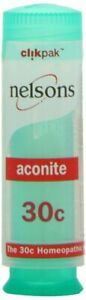 Nelsons Homeopathic Aconite 30c (84 Pillules)