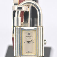 Auth HERMES KELLY WATCH Sterling Silver 925 Women's Watch A#71626