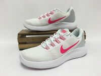 Nike Lunarconverge Running Shoes White Pink Infrared 852469-101 Women's Size 7