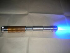 New Ultrasabers Blue Obi Wan style lightsaber fx w/ 36 in Blade & Gold Accents