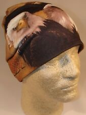 Sublimation American Eagle Native Indian Stocking Hat Cap Beanie Fleece Lined