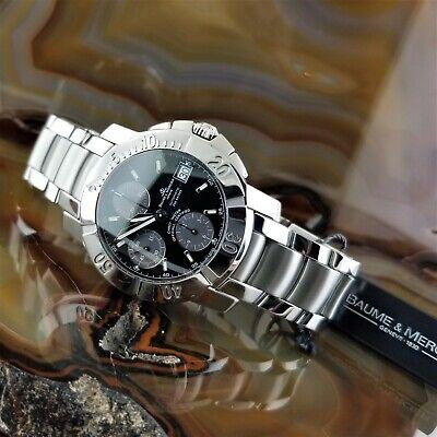 Mens BAUME MERCIER Automatic Capeland S Chronograph Watch M0A08112