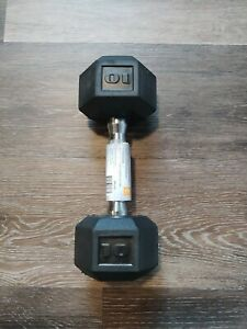 CAP SDR1010 10lbs Coated Hex Dumbbell (Single)