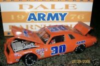 Action 1/24 Dale Earnhardt #30 Army 1976 Chevy Malibu E82