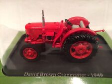 TRACTEUR DAVID BROWN CROPMASTER 1949 SCALE 1/43 UNIVERSAL HOBBIES