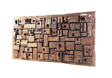 """102"""" Long Solid old Woods Wall Panel oversize Large 270"""
