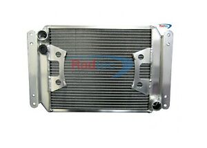 "Caterham Sigma 50mm alloy radiator by Radtec +11"" SPAL Fan"
