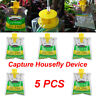 5PC Disposable Fly Trap Non Toxic Outdoor Insect Killer Catcher Bag Pest  ER